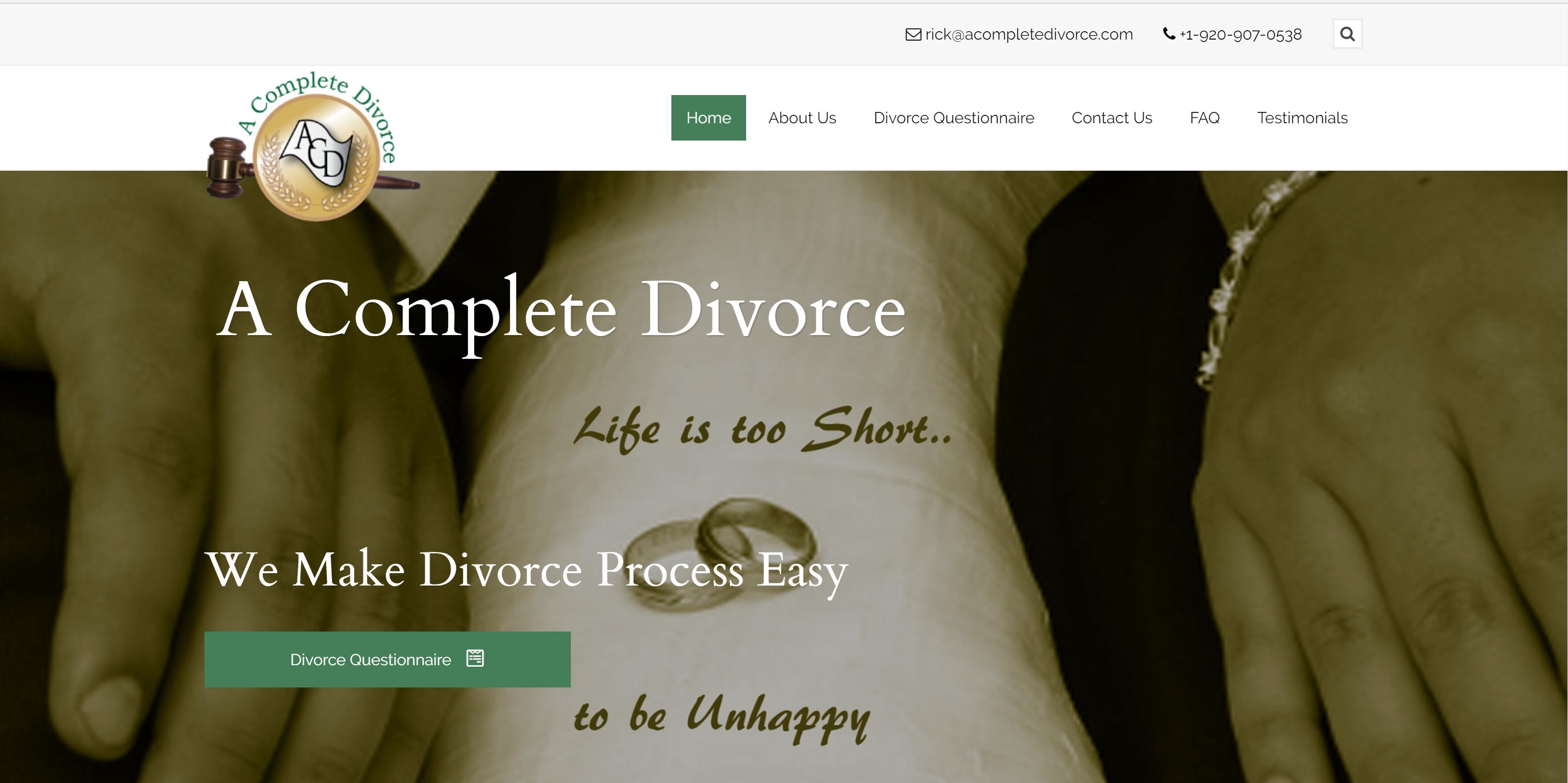 acompletedivorce website