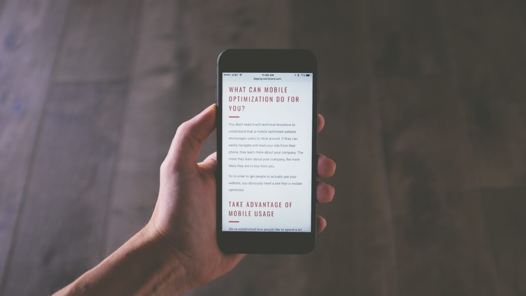 What is mobile responsiveness?